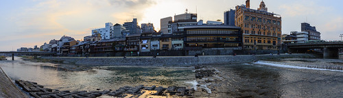 japon japan asia asie kyoto stephanexpose ville riviere kamogawa canon 1635mmf28liiusm 600d 1635mm eau sunset coucherdesoleil city river water