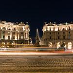Piazza della Repubblica at Night