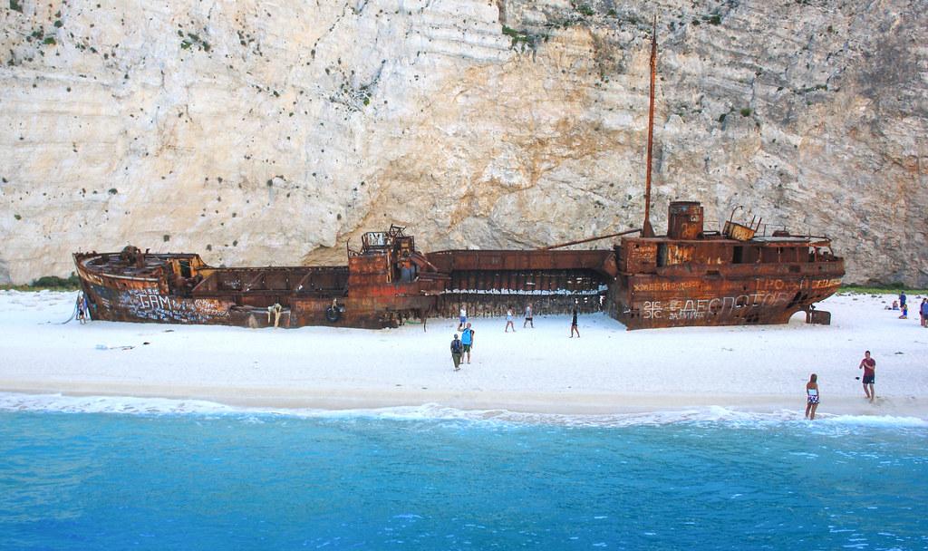 Navagio Beach Shipwreck, Zakynthos
