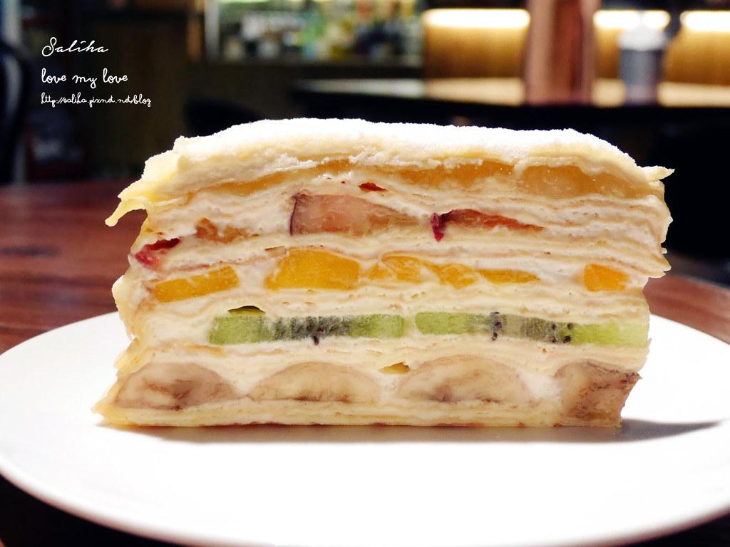 台北東區忠孝敦化站附近餐廳推薦Goodies Cuisine 好米亞水果千層蛋糕 (1)