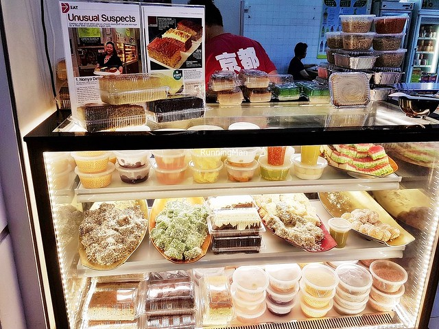 Display Of Peranakan Desserts