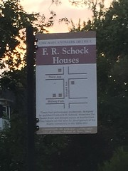 School Homes Landmark District. Austin, Chicago, Illinois.