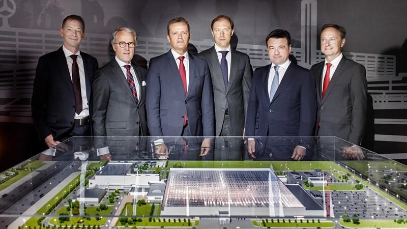 mercedes fabrika rusija 2534