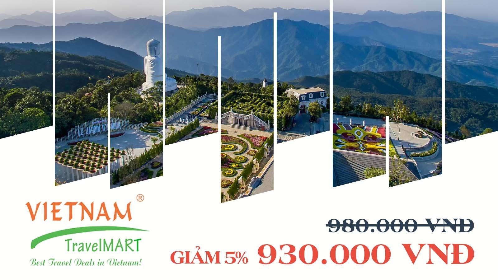 Vietnam TravelMART JSC | Giảm 5% Tour Bà Nà 2