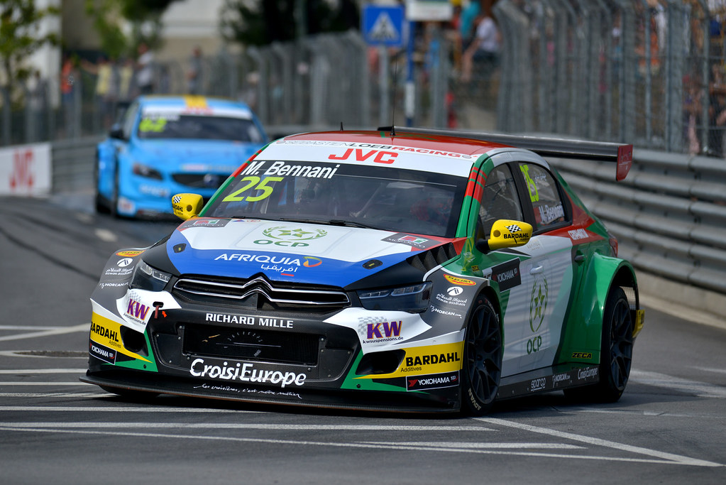 25 BENNANI Mehdi (mor) Citroen C-Elysee team Sébastien Loeb Racing action during the 2017 FIA WTCC World Touring Car Championship race of Portugal, Vila Real from june 23 to 25 - Photo Paulo Maria / DPPI
