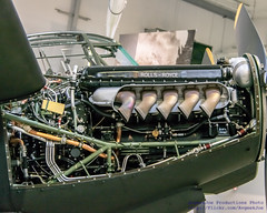 One Merlin, All Mounted for @FlyingHeritage Mossie
