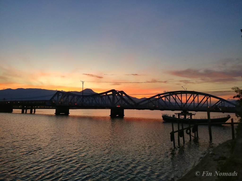 Kampot sunset 3