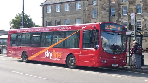 FN04 HSC 'High Peak Buses' No. 694 Scania L94UB / Wright Solar on 'Dennis Basford's railsroadsrunways.blogspot.co.uk'