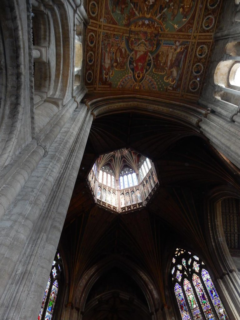 Octagonal lantern Ely Circular Ely Cathedral
