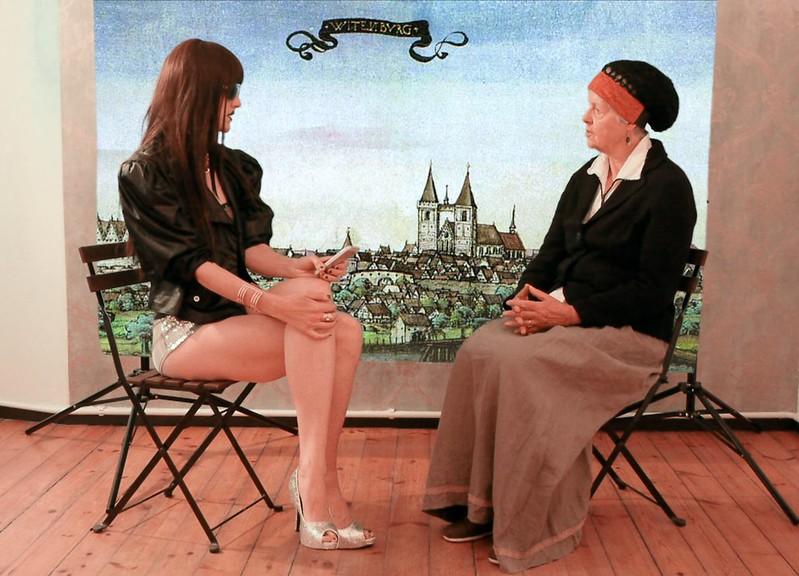 #Sergina meets Katherine von Bora