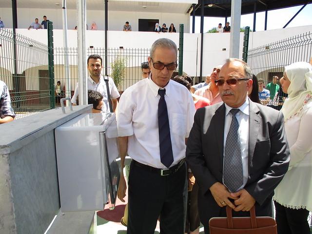 L'Inauguration de deux stations solaires au niveau de l'ENST