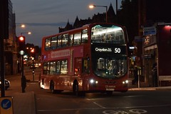 Arriva London Wright Eclipse Gemini 2 bodied Volvo B5LH (HV139 - LT63 UJW) 50