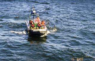 KERI-meripelastusharjoitus Virossa