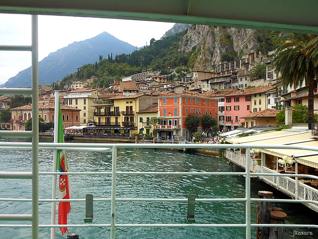 Leaving Limone sul Garda