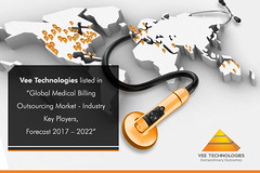 """Vee Technologies listed in """"Global Medical Billing Outsourcing Market - Industry Key Players,Forecast 2017 – 2022"""""""