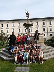 Volksschule zu Besuch in Admont