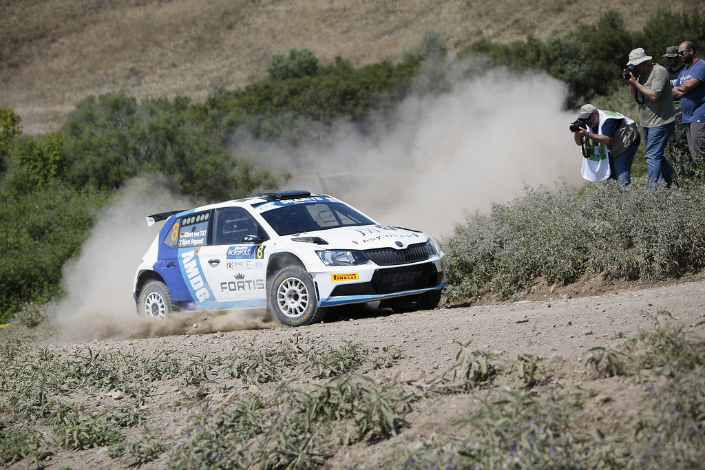 08 VON THURN UND TAXIS Albert (deu) and DEGANDT Bjorn (bel) action during the European Rally Championship 2017 - Acropolis Rally Of Grece - From June 2 to 4 - Photo Thomas Fenêtre / DPPI