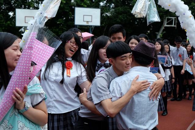 105學年大明高中畢業典禮-拱門, Fujifilm X-E2, XF18-55mmF2.8-4 R LM OIS