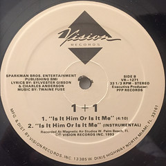 1+1:HERE I AM(LABEL SIDE-B)