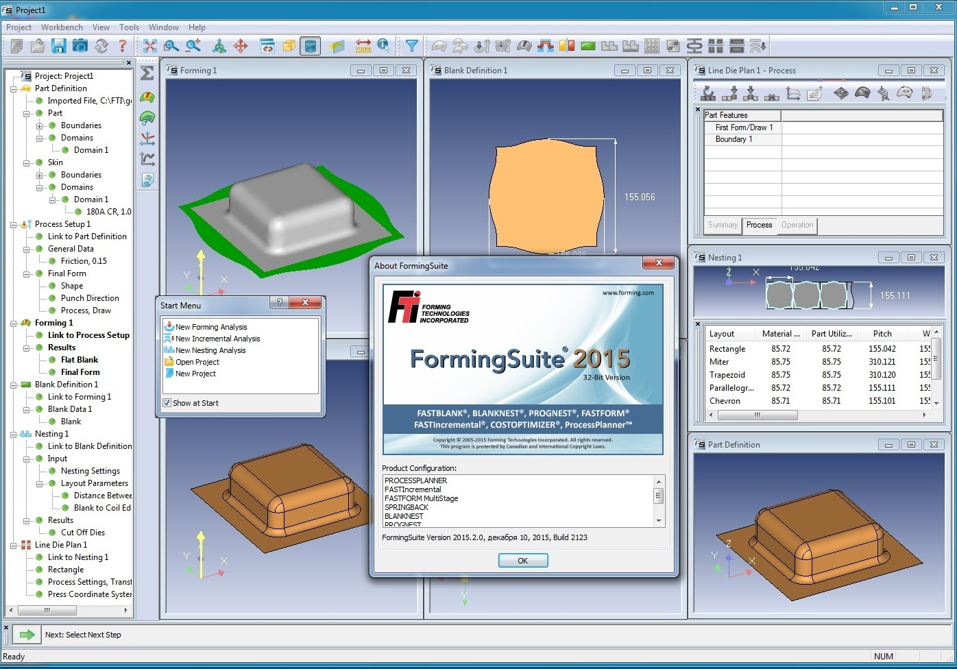 Working with FTI FormingSuite 2015.2.0 build 2123 x86 full license