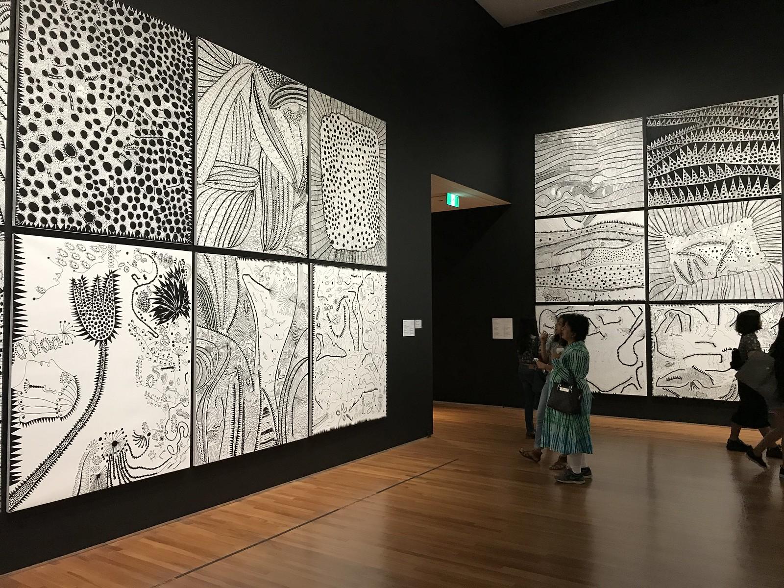 Yayoi Kunama Exhibition