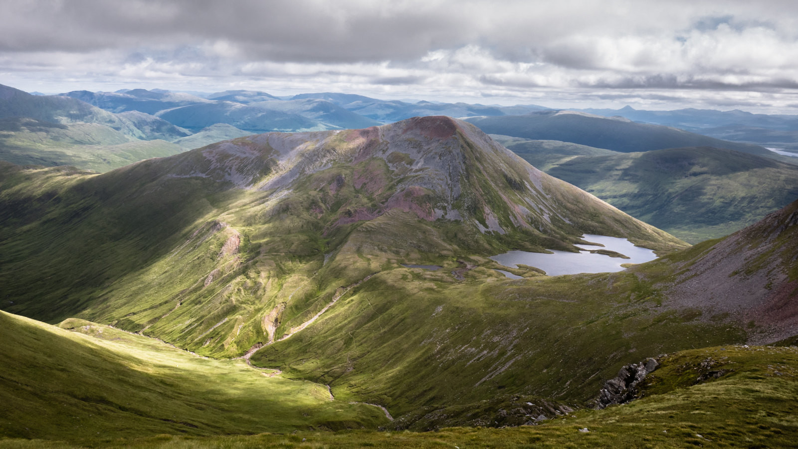 Eastern Mamores and the Grey Corries