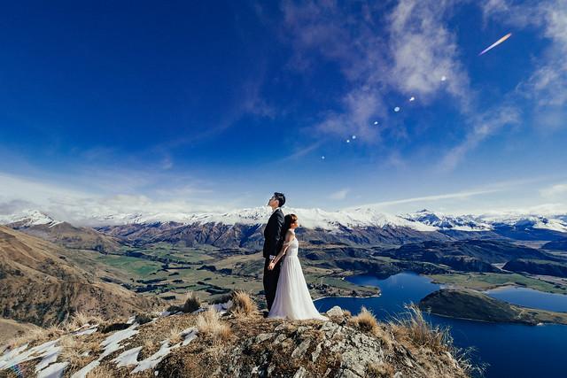 New Zealand, South NZ, Sunset, Roy's Peak