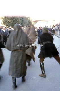 Ottana (NU), 1999, Il Carnevale con Boes Merdules e la Filonzana.