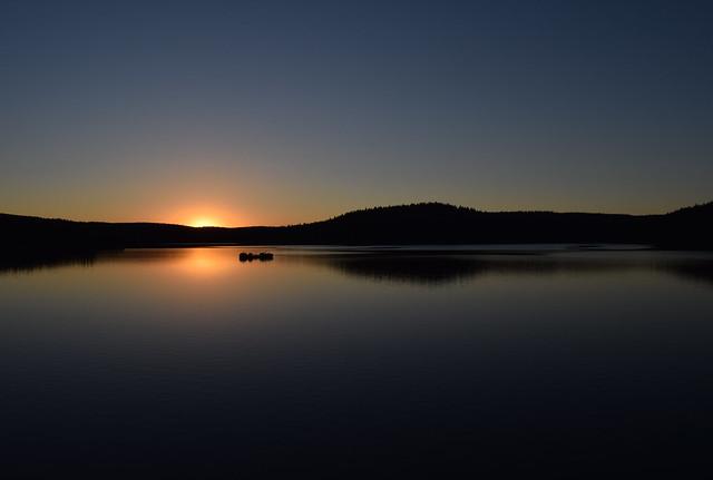 Water reservoir Josefův Důl (CZ)
