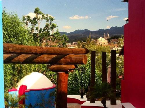 La vista del hotel casa Bugambilias en #Calvillo #aguascalientes #mexico #hotelboutique #traveller #travelphotographer #mobilephotography #travel #travelphotography #travelgram #traveller #viajes #viajando #onrequest @mexicodesconocido