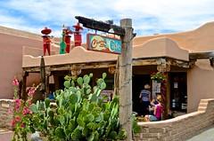 Albuquerque, Church St. Cafe, Old Town