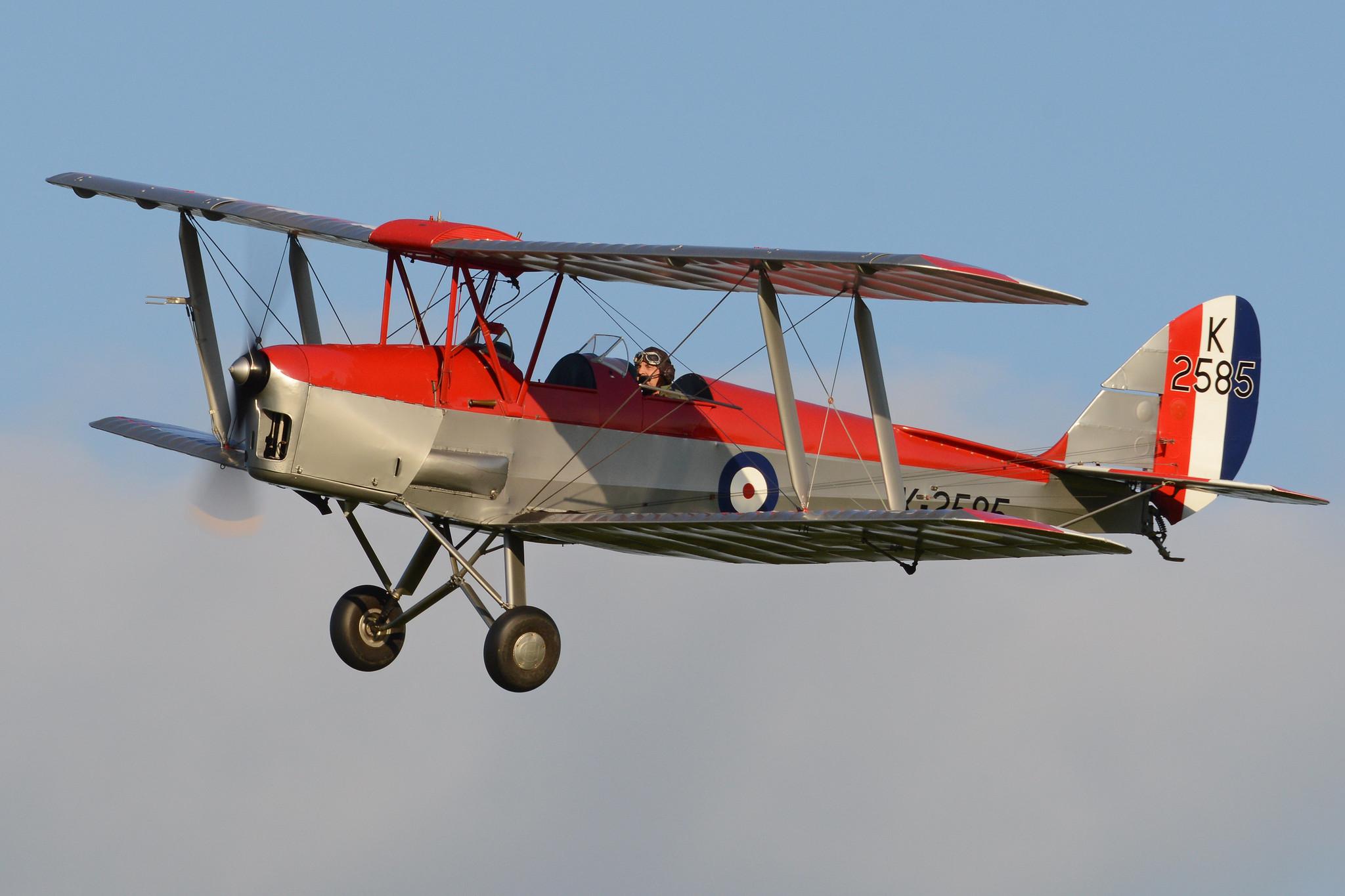 de Havilland DH82A Tiger Moth 'K2585' (G-ANKT)
