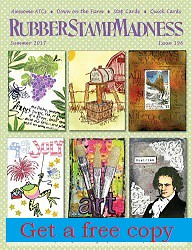 Get a free copy of RubberStampMadness Magazine