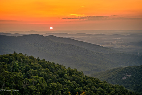 shenandoah virginia clouds landscape landscapemountain spring sunrise