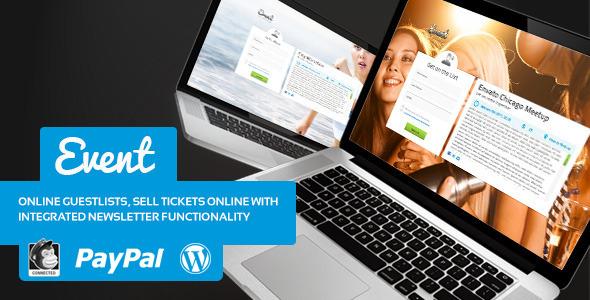 Event Guest List v1.7 - WordPress Theme