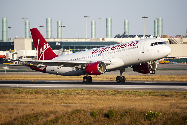 Virgin America Airbus A320 N636VA