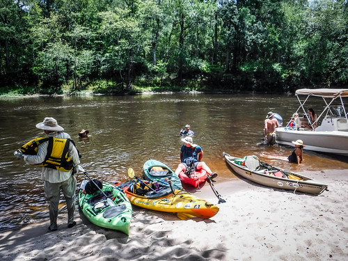 Edisto River Rope Swing and Beer Commercial Float-98