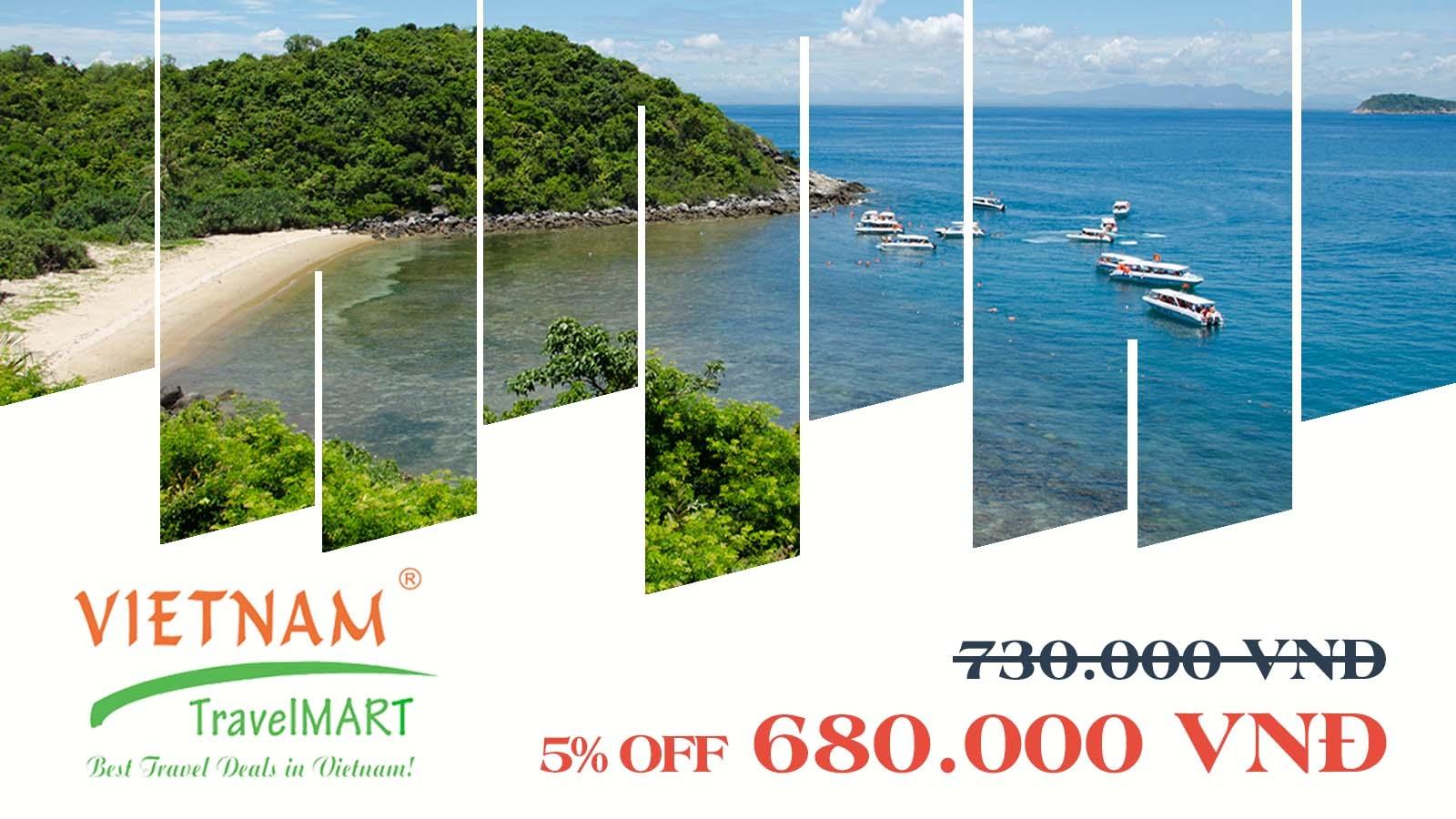 Vietnam TravelMART JSC | 5% off Cham Island daily tour