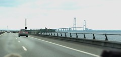 On the way to Sweden by road: Storebæltsbroen