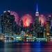 NYC Fireworks Celebration by Susan Candelario