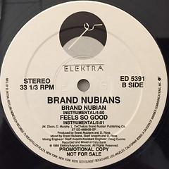 BRAND NUBIANS:BRAND NUBIAN(LABEL SIDE-B)