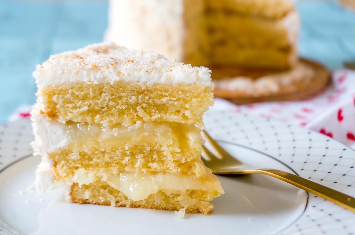Pineapple Rum Cake With Cake Mix