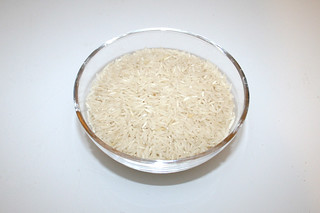 11 - Zutat Basamtireis / Ingredient basmati rice
