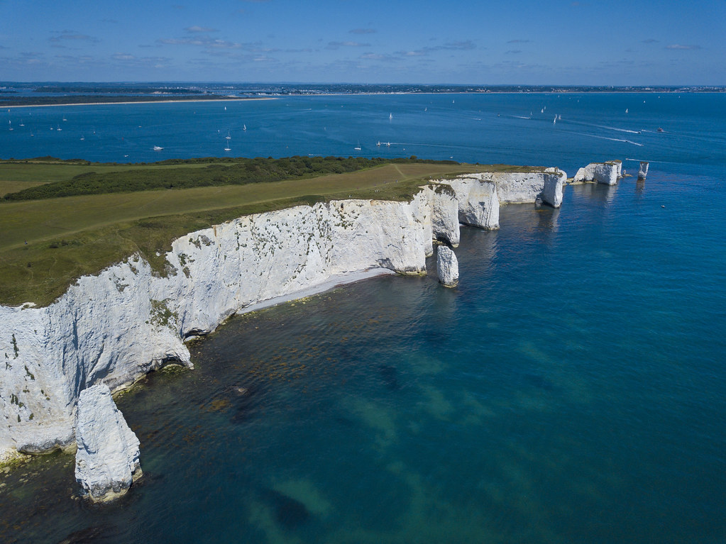 Looking North towards the Foreland - Click to show full size