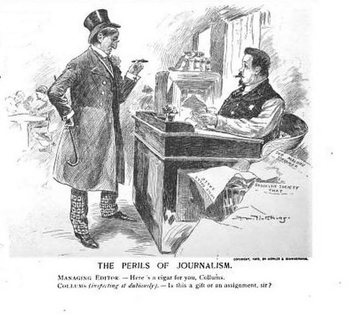 perils of journalism, the (1895)