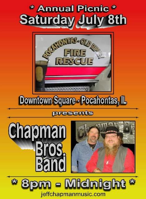 Chapman Bros 7-8-17