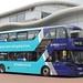 Arriva Cymru 1011 CX17BXO Wrexham bus station 3 July 2017