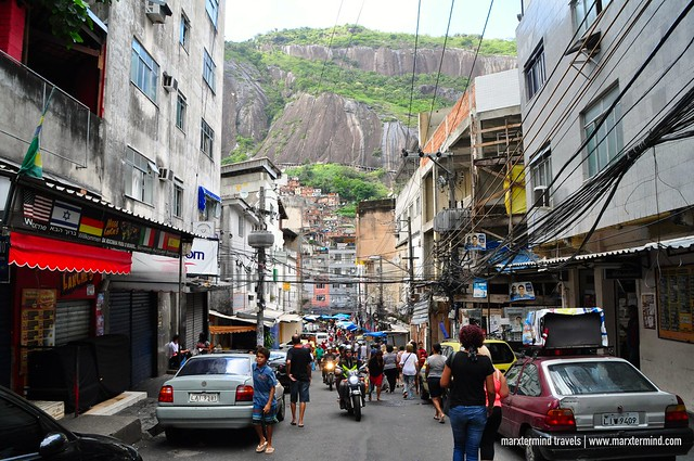 Exploring the streets in Rocinha Favela