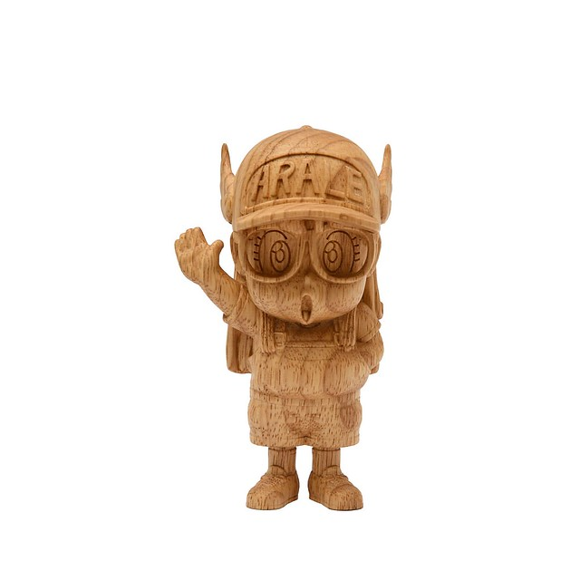 《怪博士與機器娃娃》木雕阿拉蕾(丁小雨) !!Dr.スランプス 則卷阿拉蕾