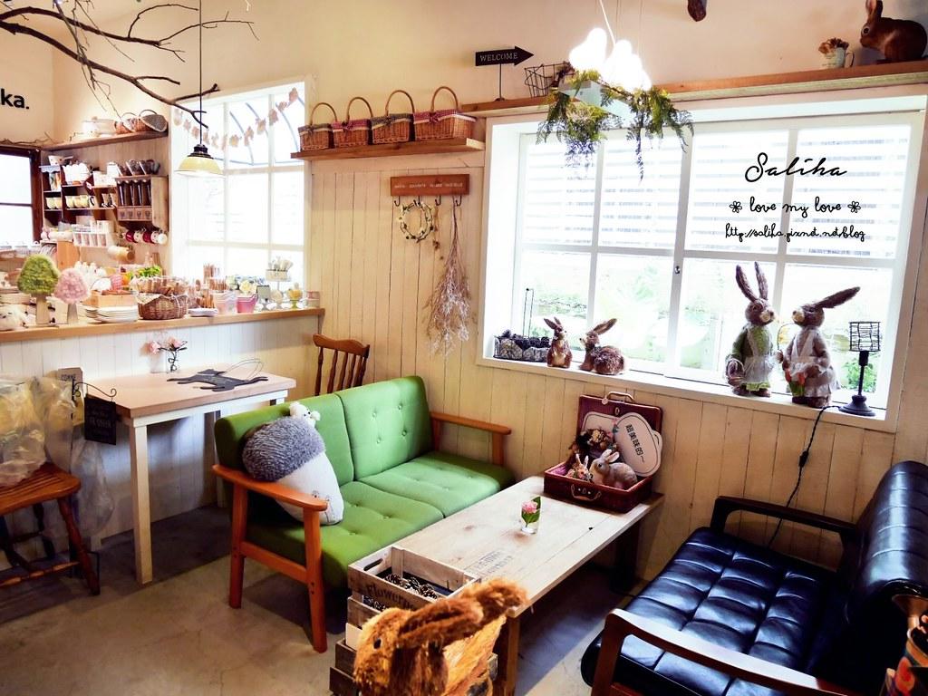 台中市西區可愛咖啡館餐廳下午茶推薦PUGU 田園雜貨 (2)